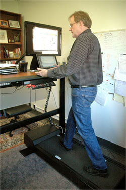 Standing Treadmill Desk
